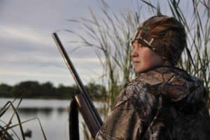 Boy Bird Hunting